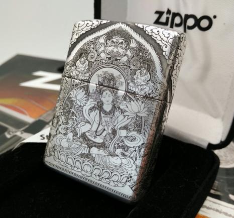 zippo bạc khối