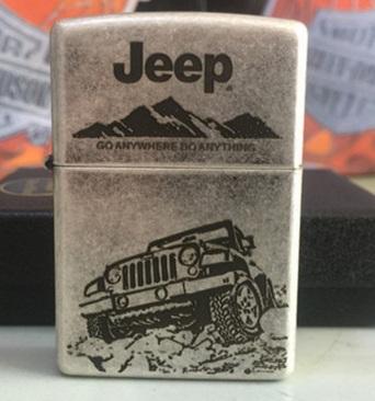 Zippo xe Jeep giới hạn 5000 con 01