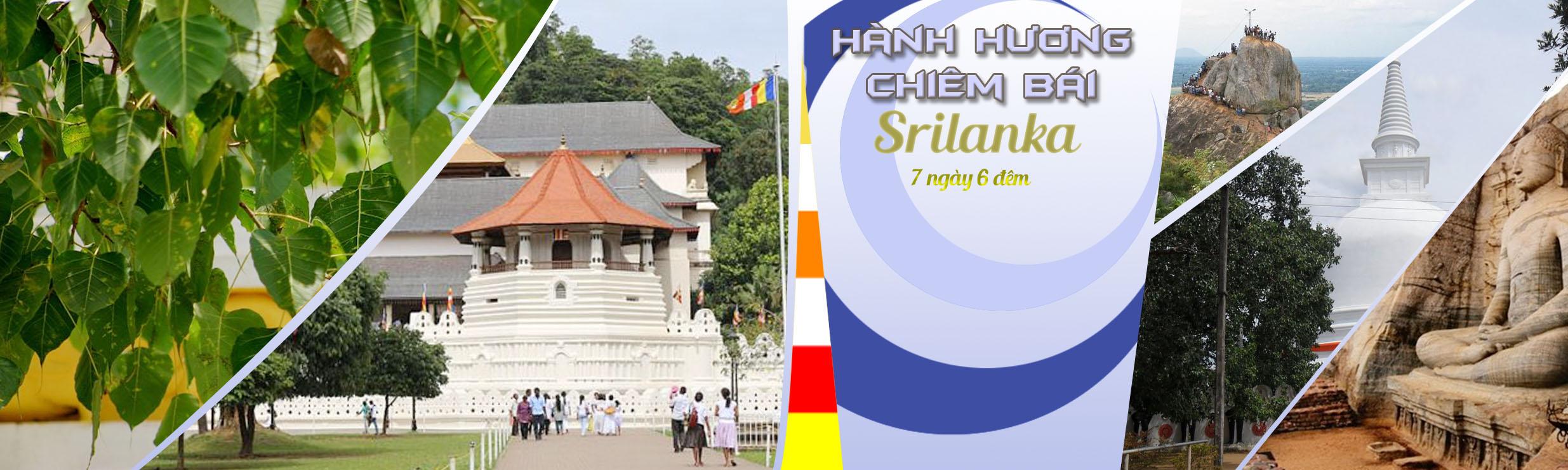 Tour hành hương chiêm bái Srilanka