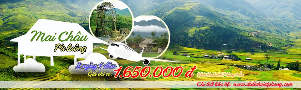 Tour Mai Châu - Pù luông