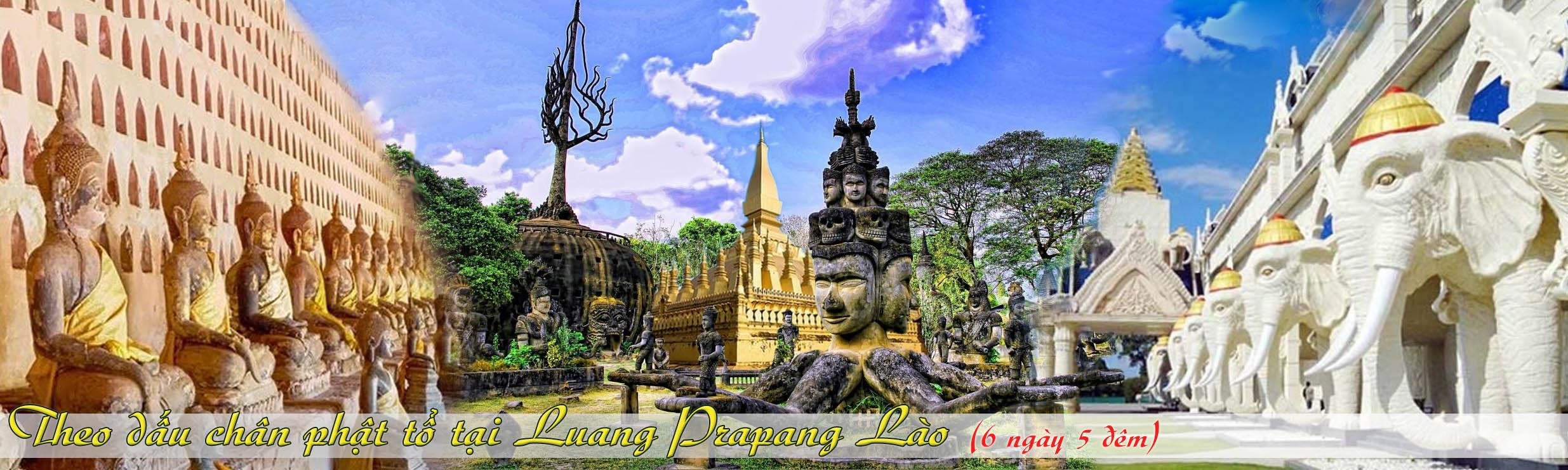 Tour du lịch Luang Prapang Lào