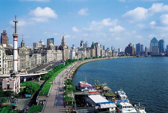Bến Thượng Hải - Trung Quốc