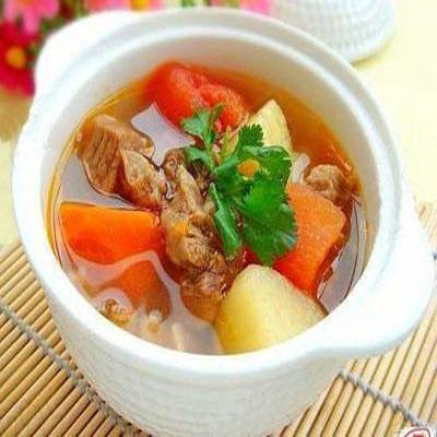 Khoai tây hầm thịt