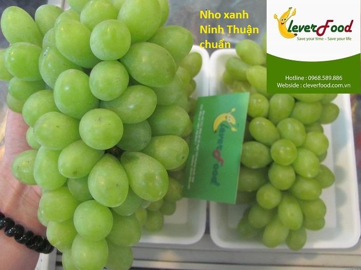 Nho xanh Ninh Thuận chuẩn