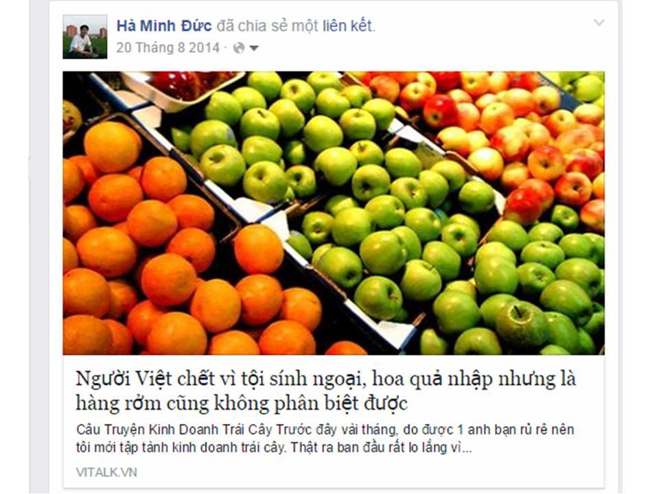 an toàn thực phẩm, hoa quả nhập khẩu