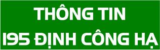 San bong da Thong tin 195 Dinh cong ha