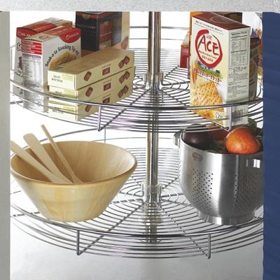 thiết -bị -đồ -nội- thất-Mâm- xoay- tròn- inox - phụ -kiện- tủ- bếp- EUROGOLD