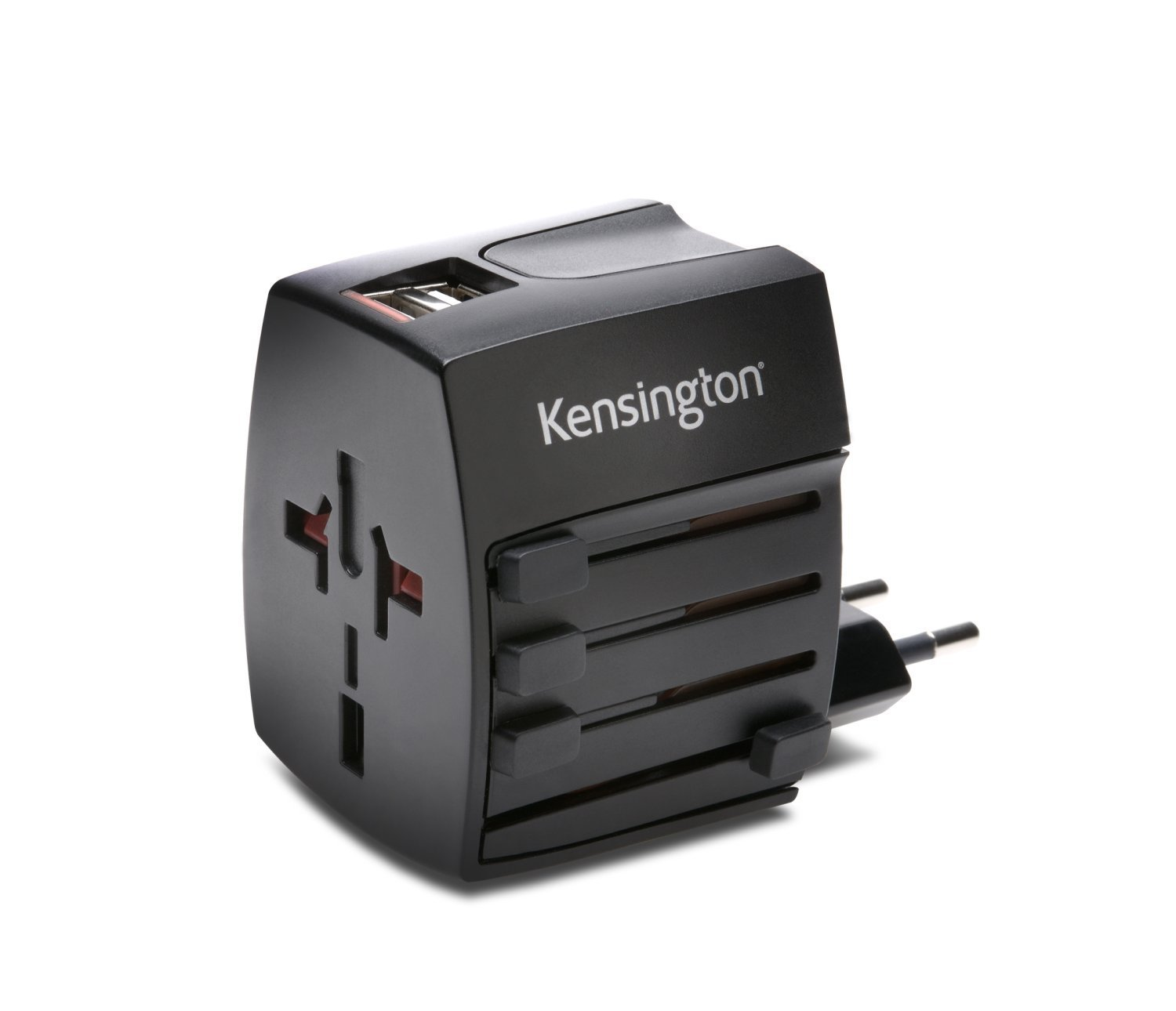 Ổ cắm điện đa năng Kensington International Travel Adapter with dual USB Charger