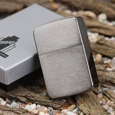 Zippo Replica 1941 Black Ice  (Dark Chrome)