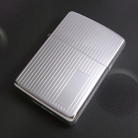 Zippo Engine Turned Polished Chrome