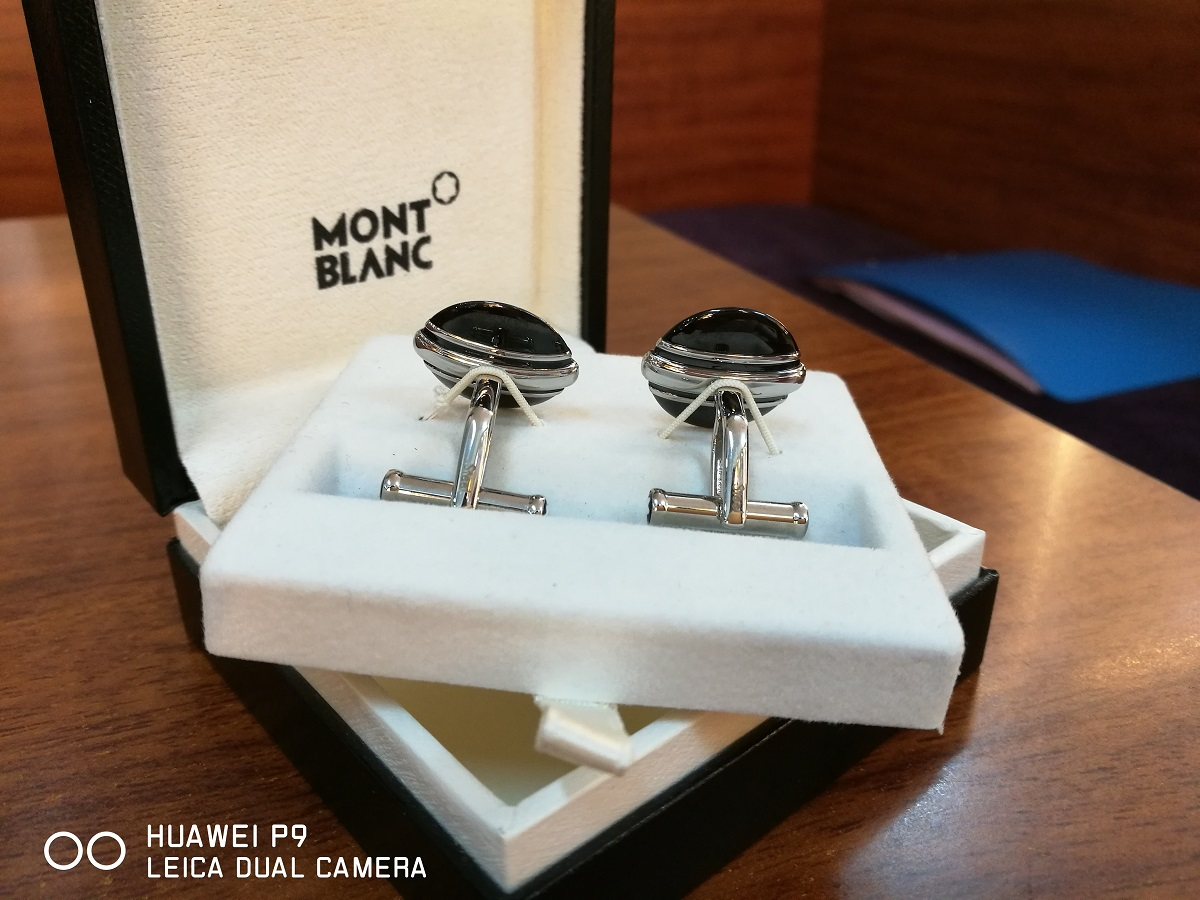 Măng séc MontBlanc Cufflinks, Classic Collection 102982