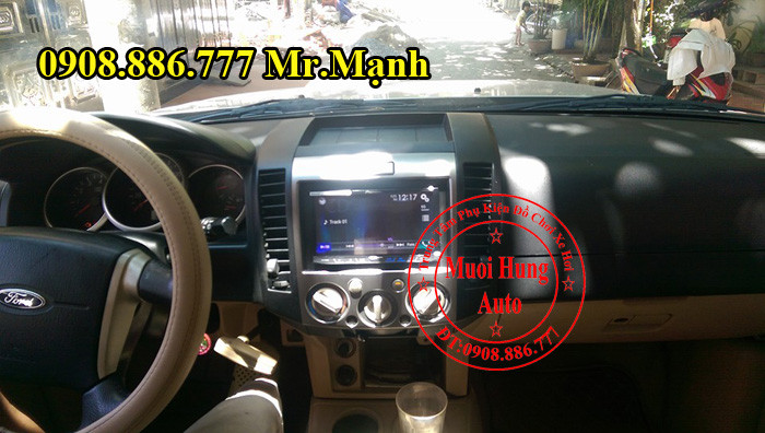 Màn Hình Dvd Pioneer 8850BT Ford Everest 2012