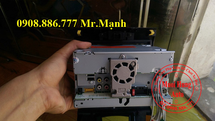 Màn Hình Dvd Pioneer 8850BT Ford Everest 2012 01