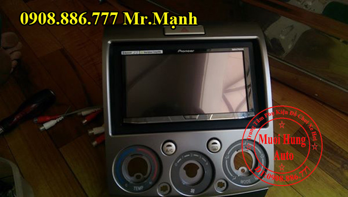 Màn Hình Dvd Pioneer 8850BT Ford Everest 2012 02