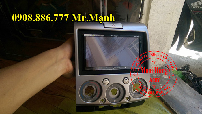 Màn Hình Dvd Pioneer 8850BT Ford Everest 2012 03