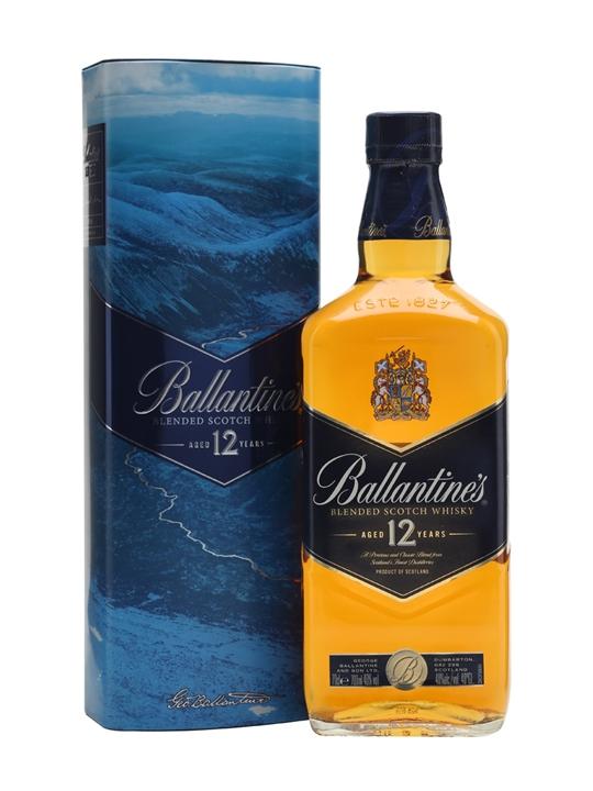 giá rượu Ballantine's 12 năm Gift Tin
