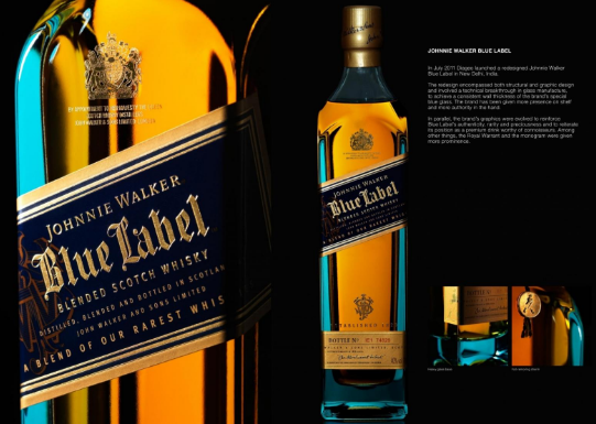 Rượu Johnnie Wlaker Blue Label giá