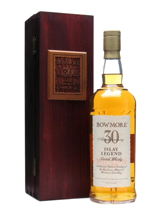 giá rượu Bowmore 30th Anniversary blend Islay Legend