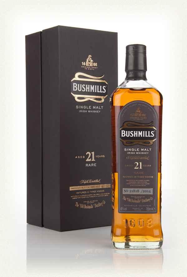 Bán rượu Bushmills' 21 năm