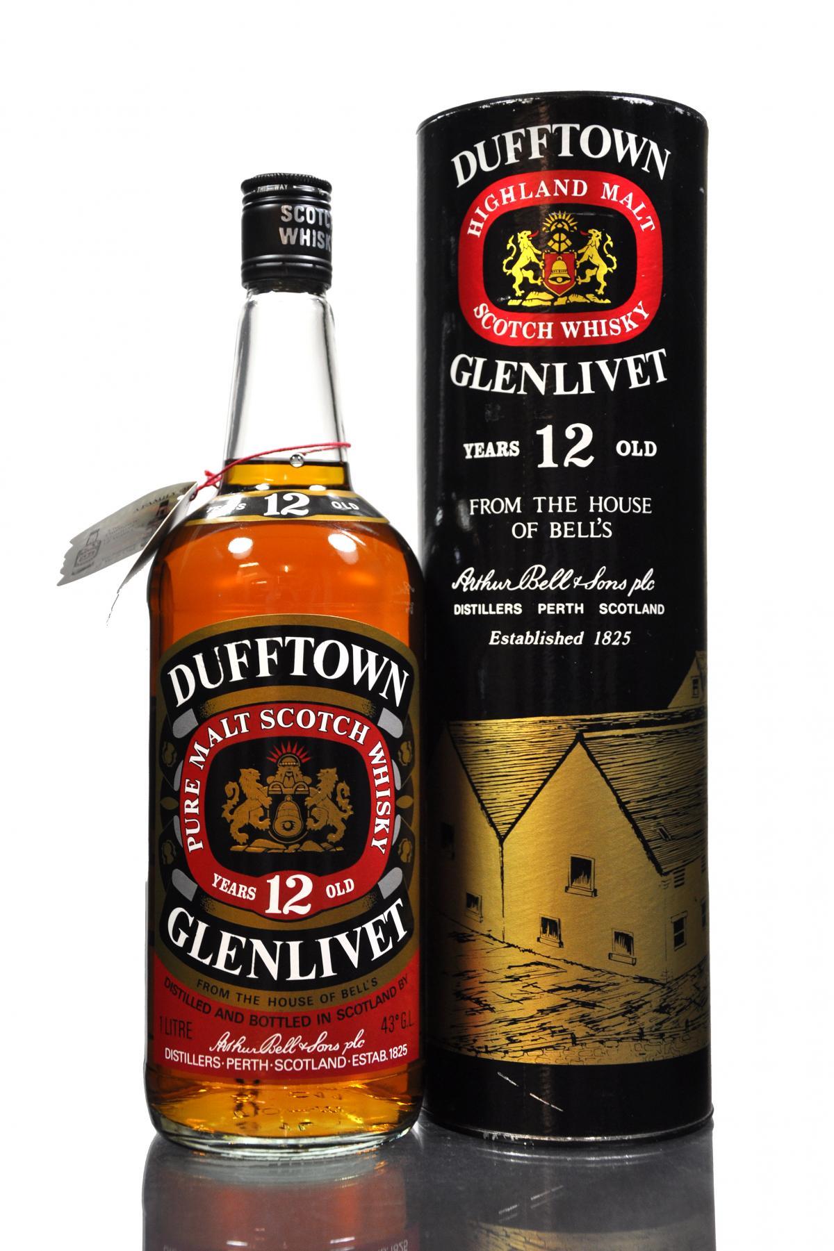 giá rượu Dufftown-Glenlivet 12 năm