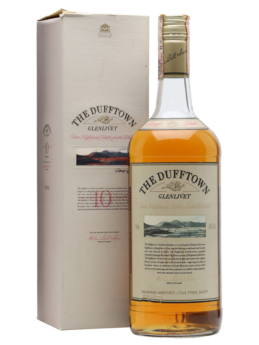 giá rượu Dufftown Glenlivet 10 năm