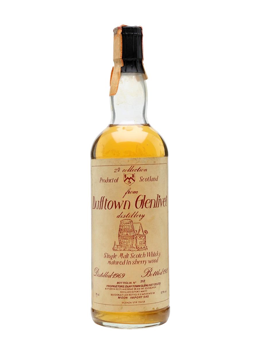 giá rượu Dufftown Glenlivet 1969