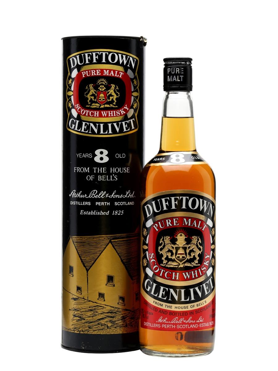 giá rượu Dufftown-Glenlivet 8 năm