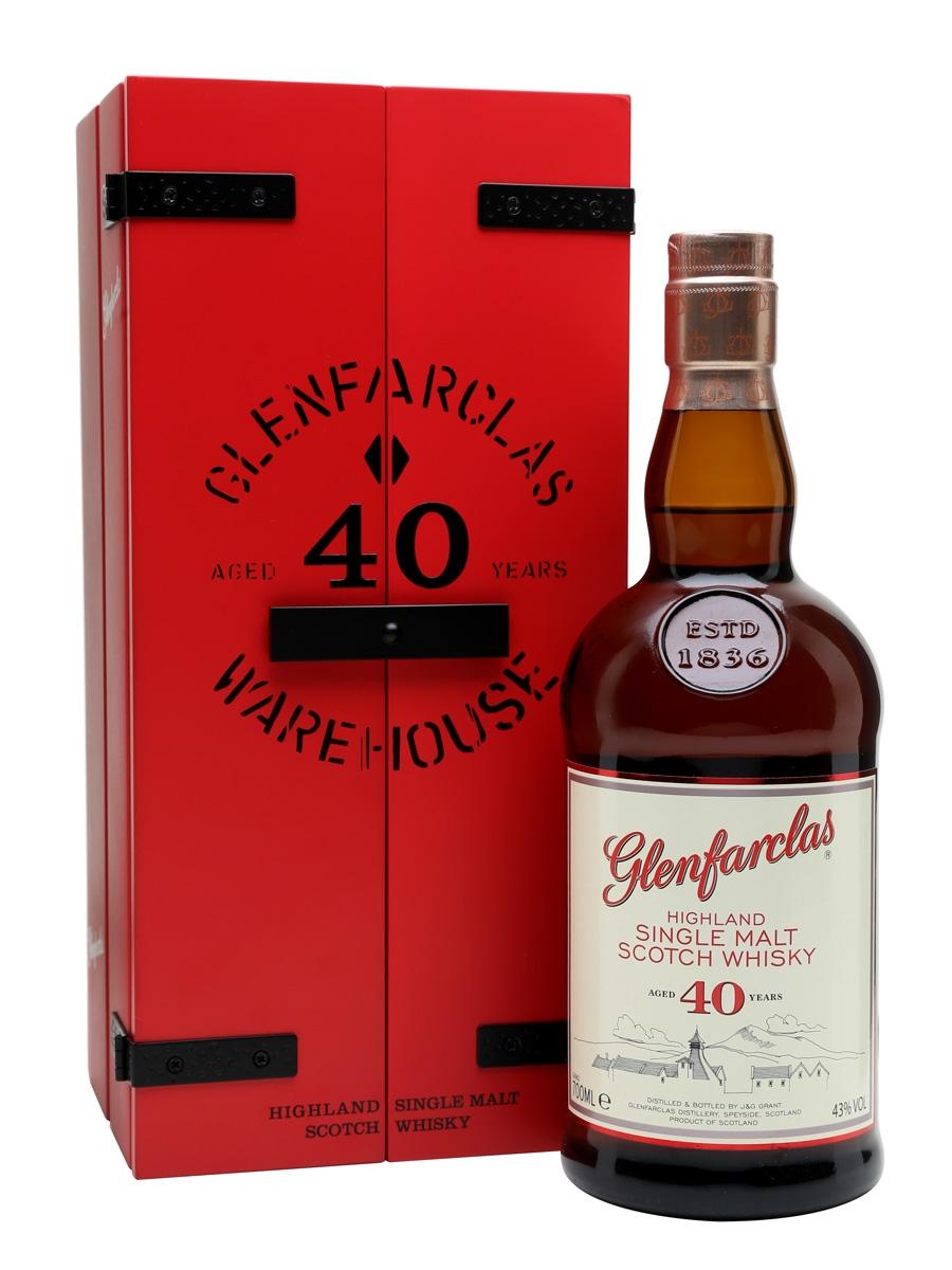 giá rượu Glenfarclas 40 năm
