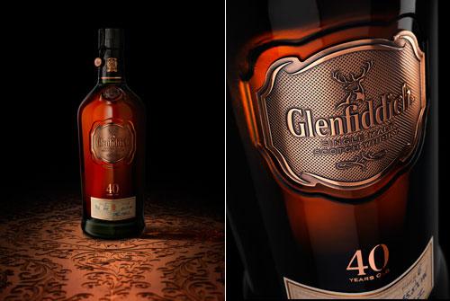 Bán rượu Glenfiddich 40 năm