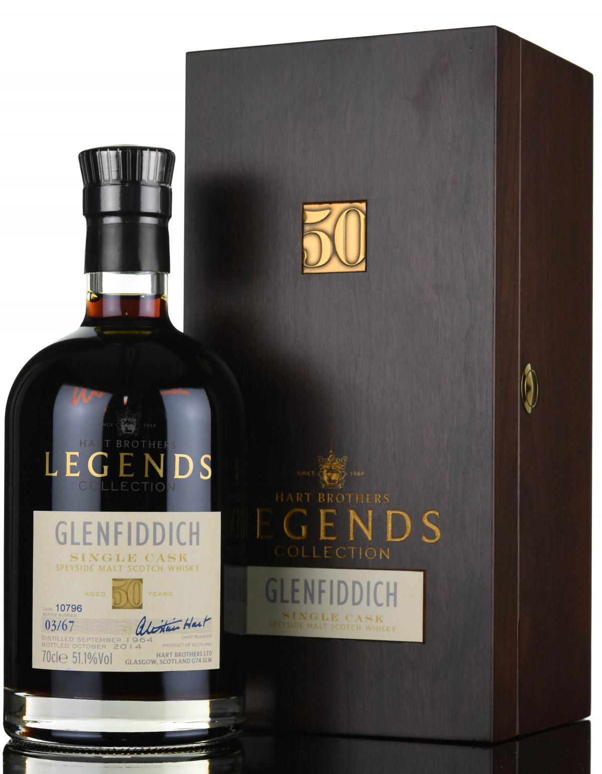 giá rượu Glenfiddich 1964 50 năm