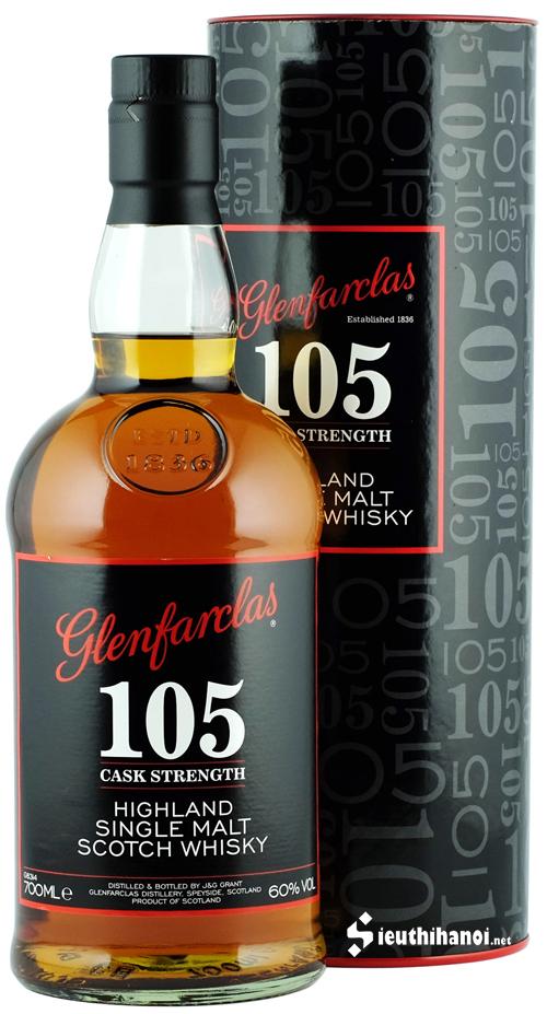 rượu glenfarclas 105