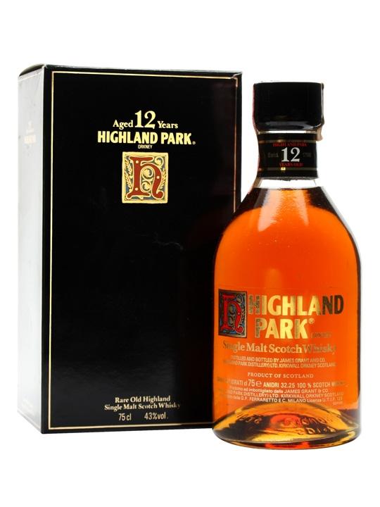 giá rượu Highland Park 12 năm