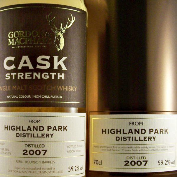 giá rượu Highland Park 2007
