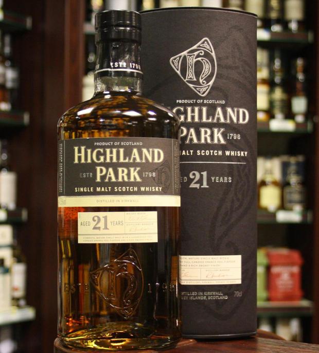 giá rượu Highland Park 21 năm
