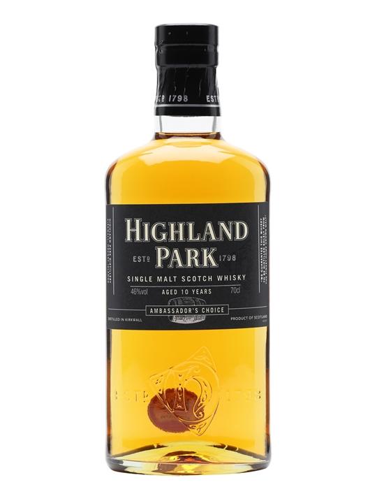 giá rượu Highland Park Ambassador's Choice 10 năm