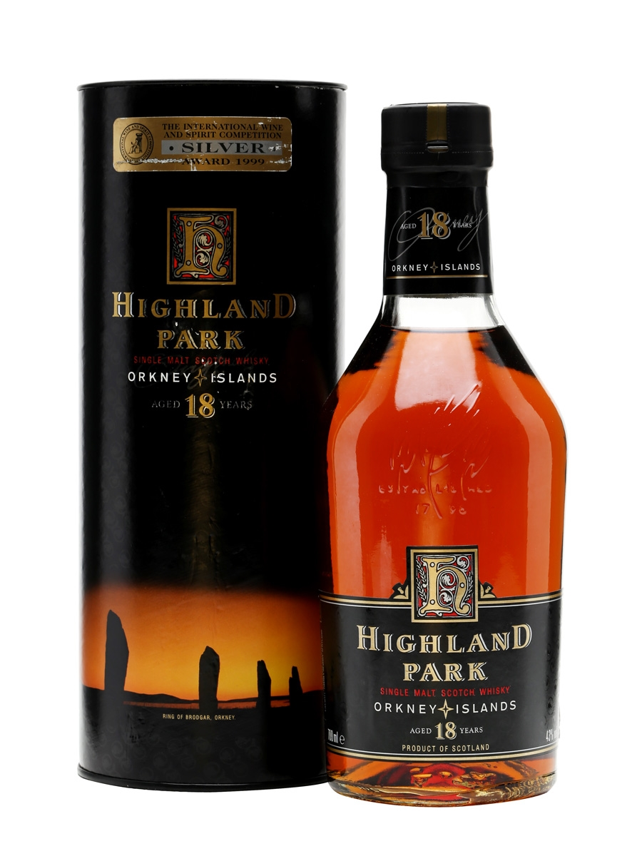 giá rượu Highland Park 18 năm