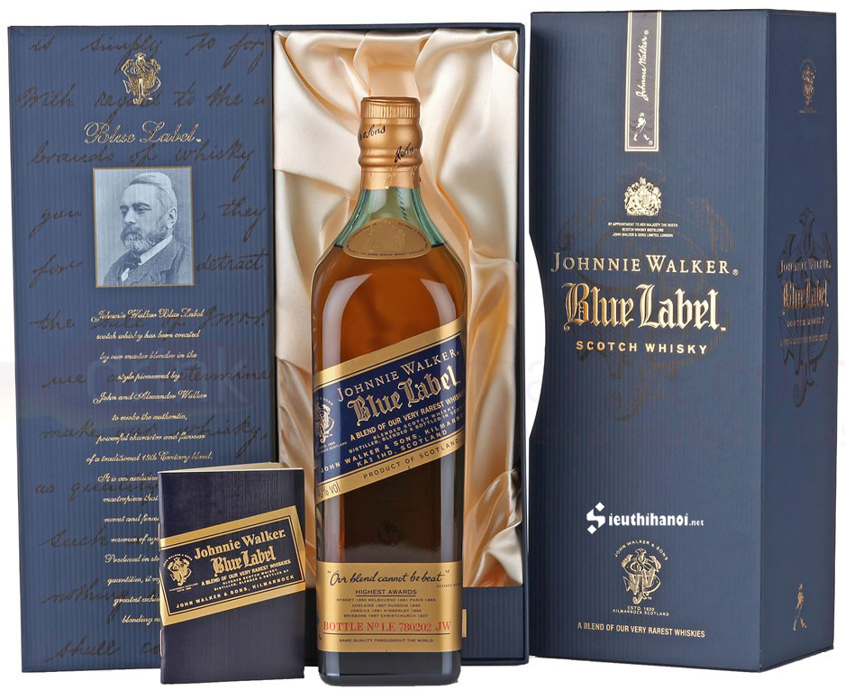 bán rượu johnnie walker blue label
