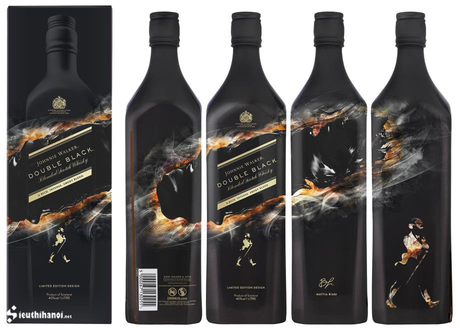 rượu johnnie walker double black limited