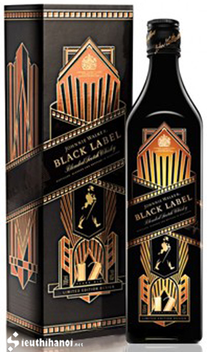 rượu johnnie walker black label limited edition