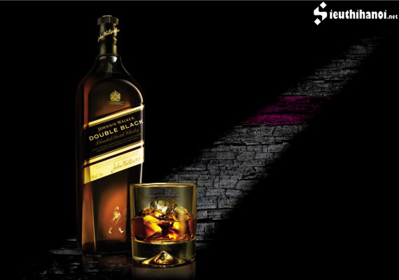 Johnnie walker double black 1 lít