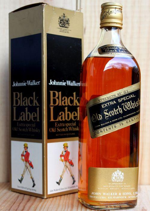 giá rượu Johnnie Walker Black Label 12 năm