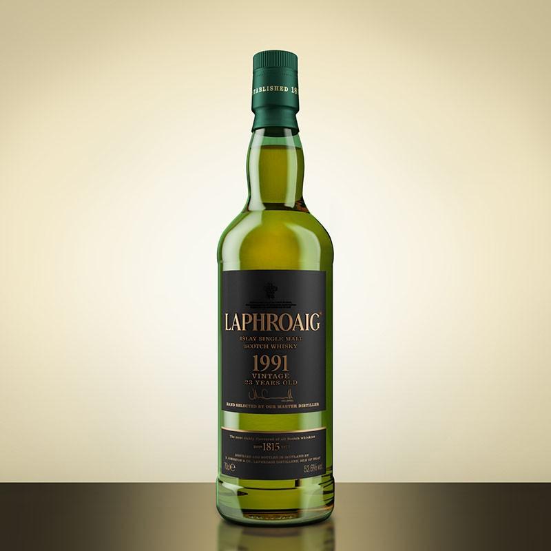 giá rượu Laphroaig 1991 23 năm