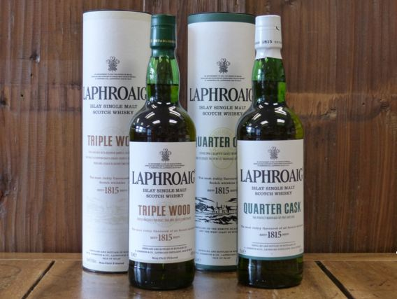 giá rượu Laphroaig Triple Wood
