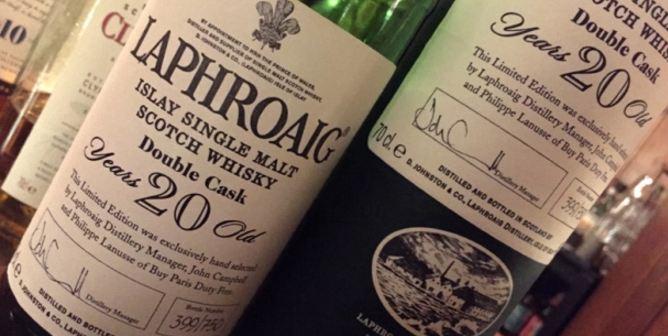giá rượu Laphroaig 20 year old Double Cask