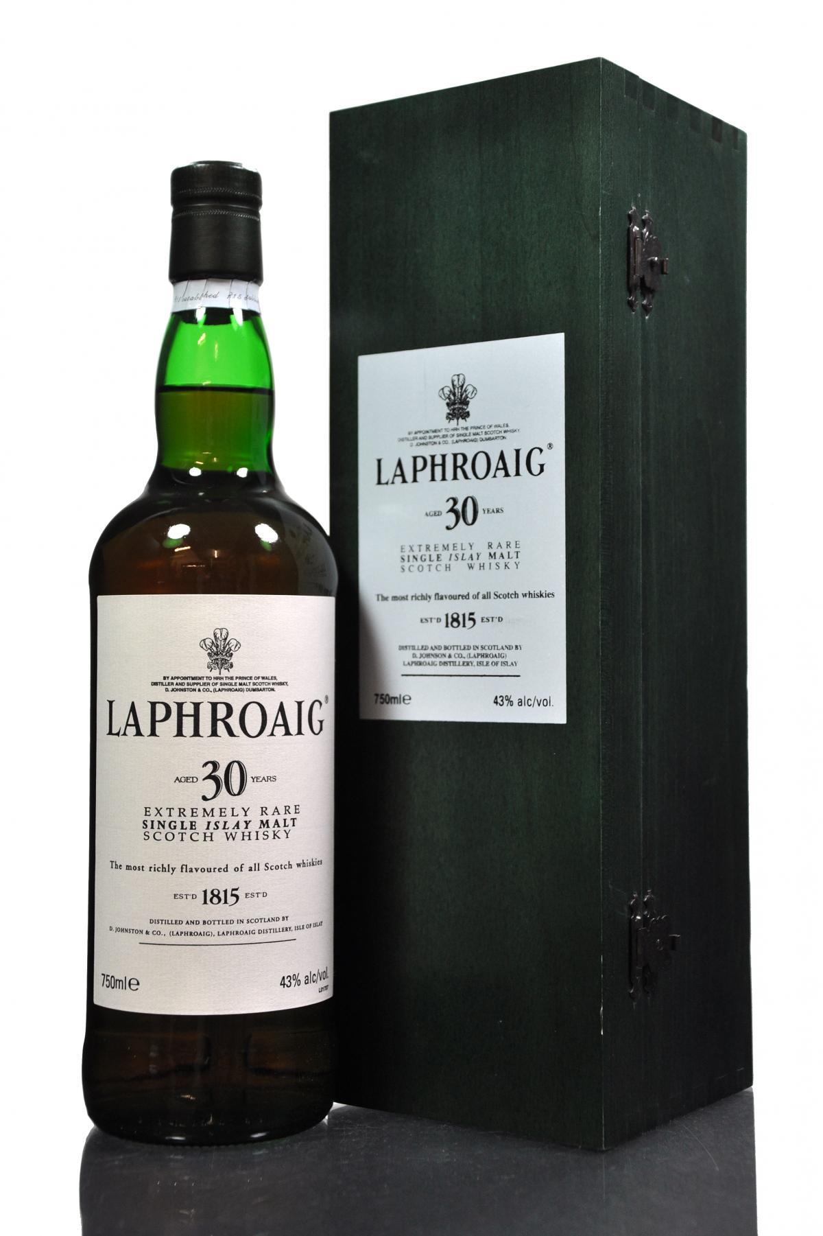 giá rượu Laphroaig 30yo