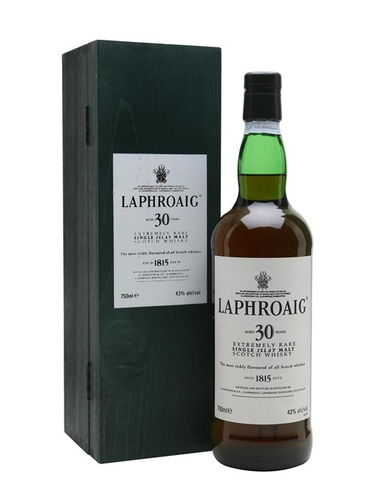 giá rượu Laphroaig 30 năm