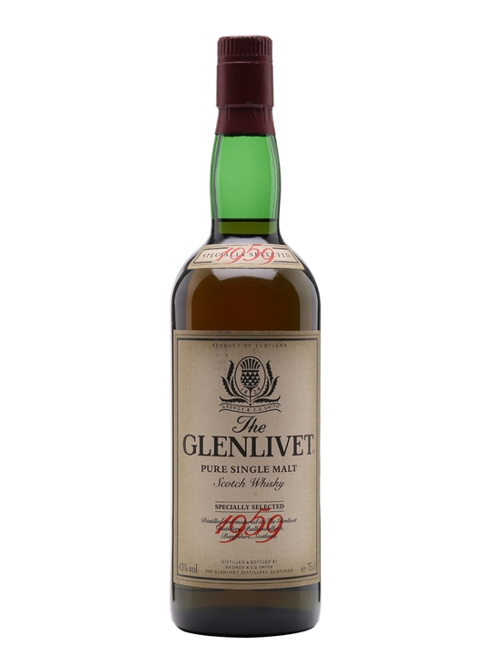 giá rượu Glenlivet 1959