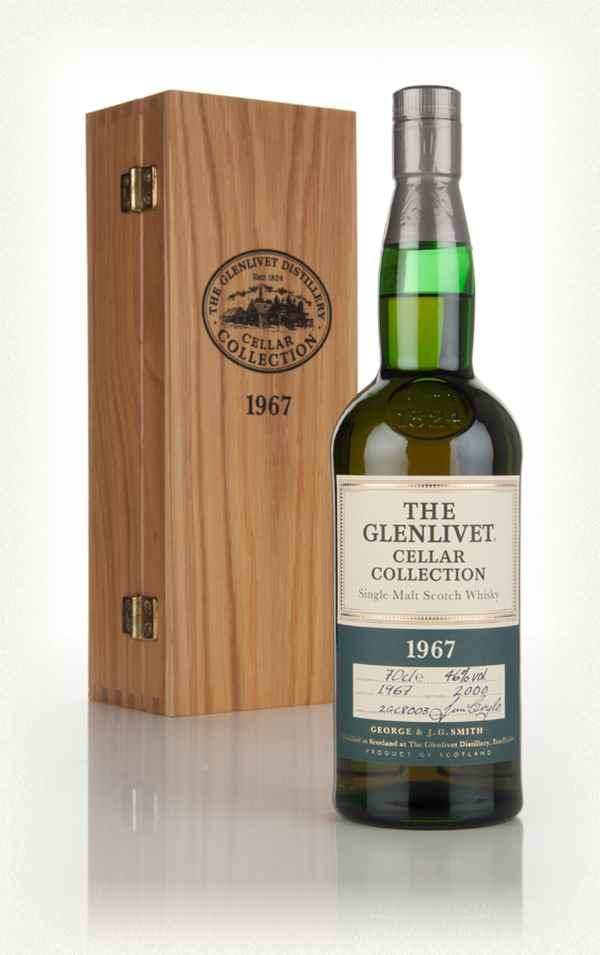 giá rượu Glenlivet 1967 33 năm