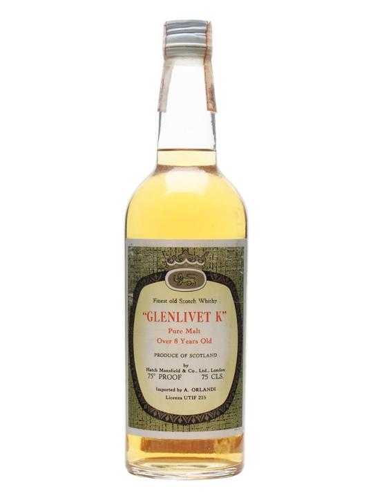 giá rượu Glenlivet K Pure Malt 8 năm