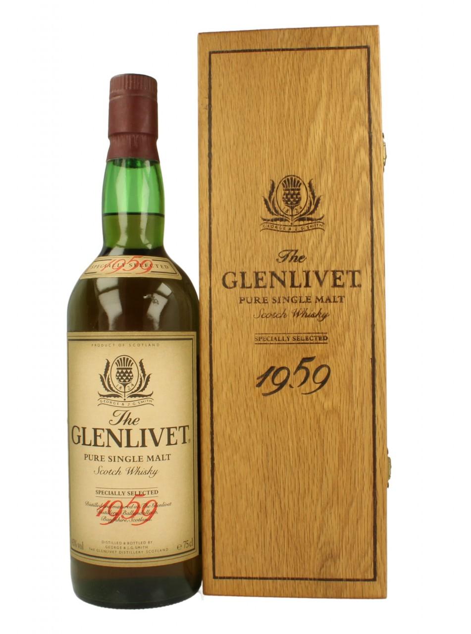 Mua rượu Glenlivet 1959
